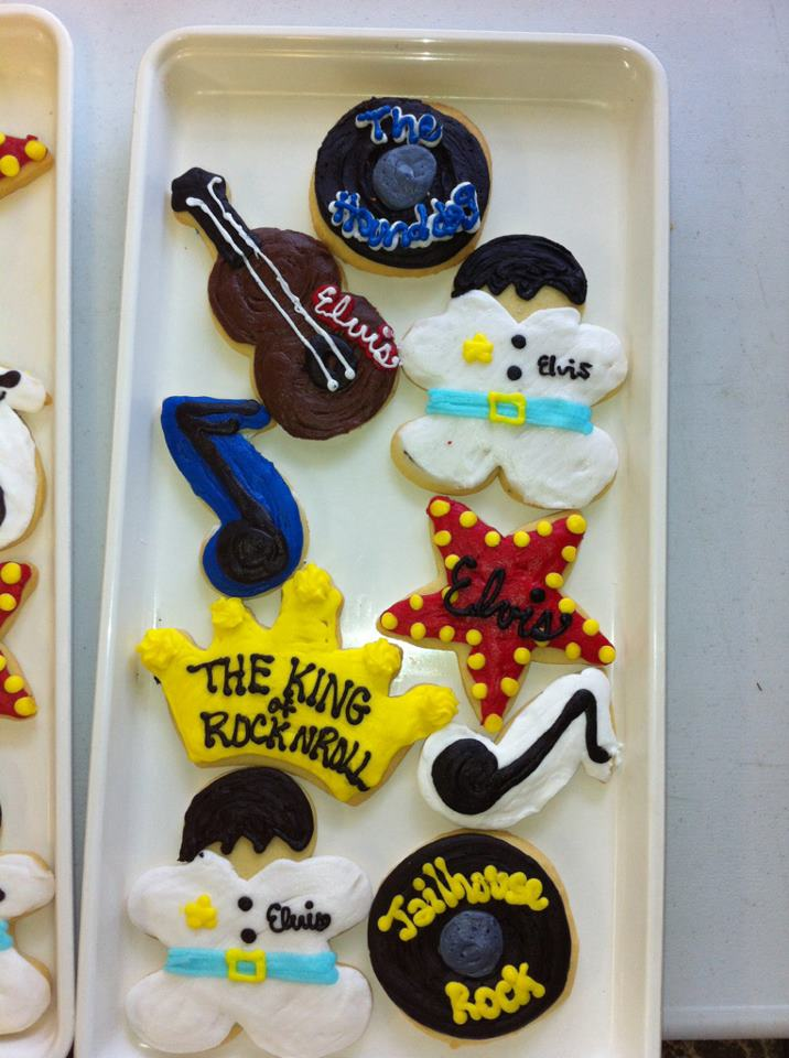 Sweet Treats Elvis Cookies