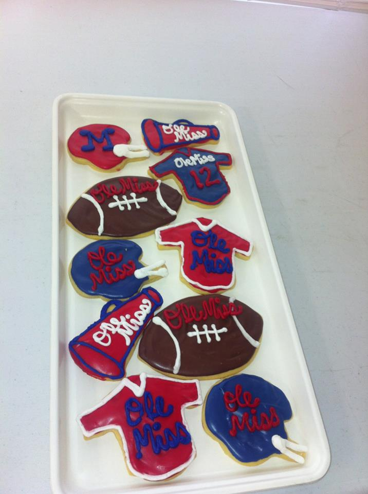 Sweet Treats Ole Miss Cookies